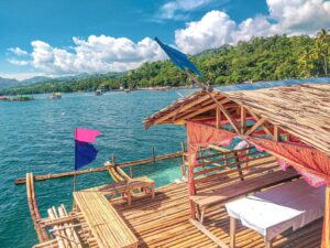floating cottage of carmen agusan del norte