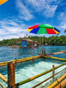 floating cottage caraga